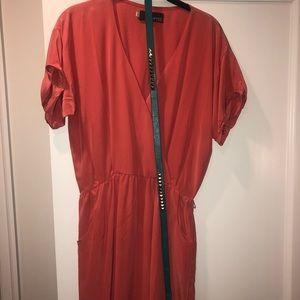 MYNE Ashley Ann 100% silk dress NWT